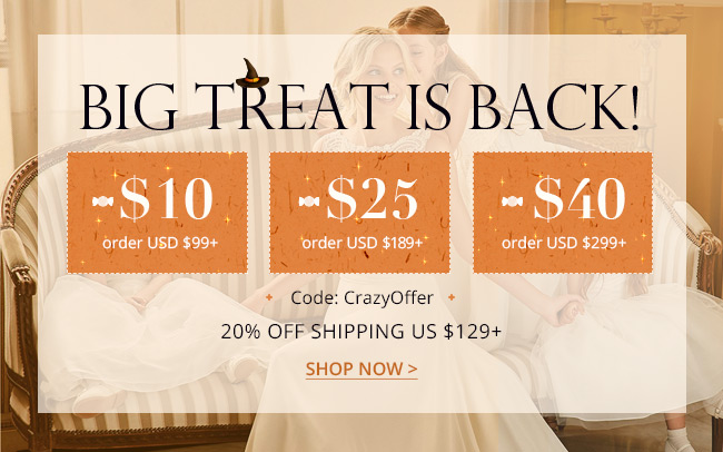 Big Treat Is Back With $40 Off